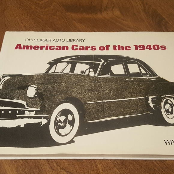 SOLD - AMERICAN CARS OF THE 1940'S OLYSLAGER AUTO